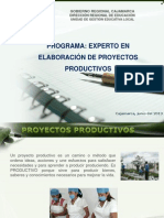 Orientaciones de Proyectos Productivos