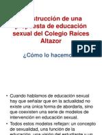 Distintos modelos en educación sexual