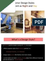 Design Styles Part I