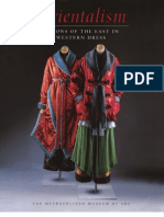 Orientalism Visions of the East in Western Dress