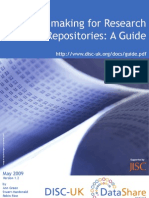 Policy-Making for Research Data in Repositories-Guide