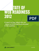 The State of Web Readiness Report 2012