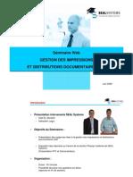 Gestion Des Impressions Et Distributions Documentaires SAP