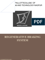 91948246 Regenerative Braking Ppt Final