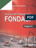 Analisis Dan Perancangan Fondasi 2