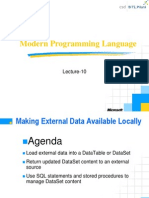 Lecture-10 Making External Data Available Locally