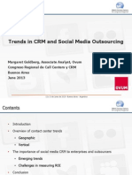 Trends in CRM Outsourcing - Social Media