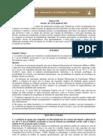 TCU - Informativo de Jurisprudência sobre Licitações e Contratos nº 156
