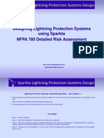 Example Sparkta_NFPA 780 Detailed