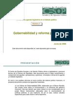 ACOPPI001 Gobernabilidad y Reforma Politica
