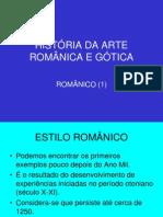 História da Arte Românica e Gótica - 1