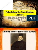 Substitution Ciphers1