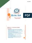 Corso Ecdl 5 0 Modulo 1 Concetti Di Base