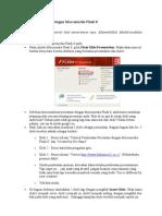 Membuat Presentasi Dengan Macromedia Flash 8