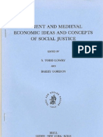 Ideile Economice Si Justitia Sociala La Sfintii Parinti