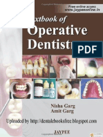 Textbook of Operative Dentistry01