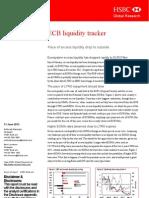 HSBC ECB Liquidity Tracker