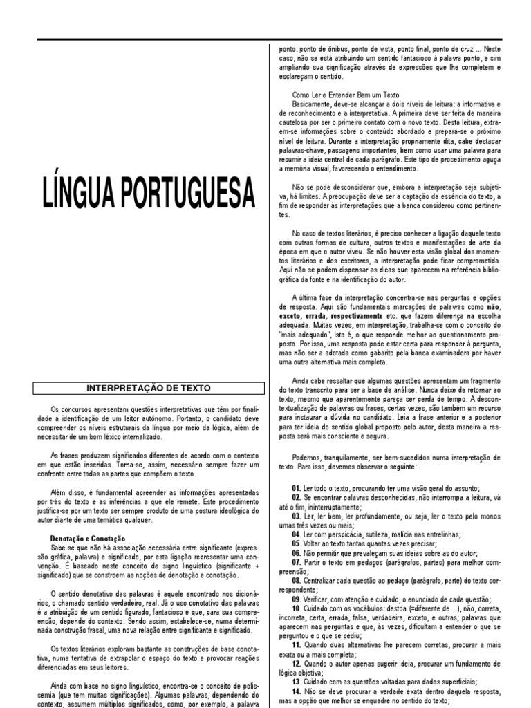 Portugues 0b9df5f526e