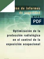 Optimización de la protección radiológica en el control de la exposición ocupacional