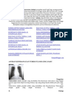 Melakukan Asuhan Keperawatan Tbc