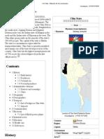 Chin State - Wikipedia, The Free Encyclopedia
