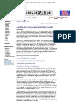 Features- Kuki, Chin, Mizo-Hmar's Israelite Origin; Myth or Reality