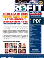 The Profit Newsletter for Atlanta REIA - July 2013