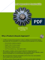 Product Lifecyle Assessment