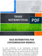 Tasas Retributivas (1)