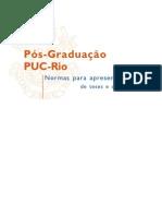 Normas apresentação dissertação