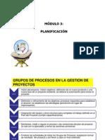 PROCESO DE PLANIFICACIÓN ADMINISTRACIÓN DE PROYECTOS