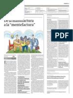 Diario Gestion_De La Manufactura a La Mentefactura 28.06.2013