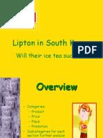 South Korea _ Lipton