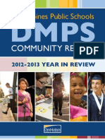 DMPS Community Report - 2012-13 Year-in-Review