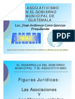 Asociativismo Gobierno Municipal Guatemala