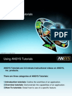Introduction ANSYS tutorials