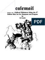 4th Edition - Scalemail - Rules for Medieval Miniatures