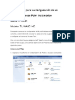 Configuaracion AP TPlink
