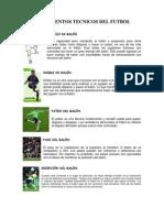 Fundamentos Tecnicos Del Futbol