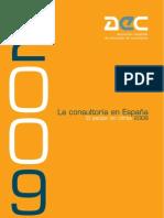 La Consultoría en España 2009