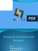 Computer Hardware and Network Power Point Presentation