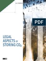 Aspectos Legales Almacenaje CO2