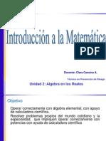 Introducción a las MatemáticasAR_AlgebrA