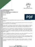 Proposta NºRG0122 -CONDOMINIO SOLAR VERNIER - 150 KVA