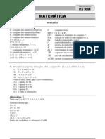 Matematica Ita 2004