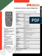 Manual Multimetro Meterman