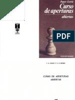 Curso de Aperturas Abiertas. Panov & Estrin [63]