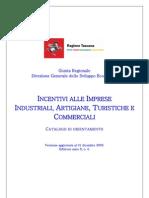 Catalogo Incentivi Alle Imprese VI Edizione 31 Dicembre 2009