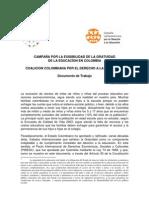 DOCUMENTO DE TRABAJO CAMPAÑA GRATUIDAD