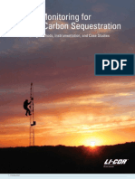 Surface Monitoring for Geologic Carbon Sequestration (2011, Licor)